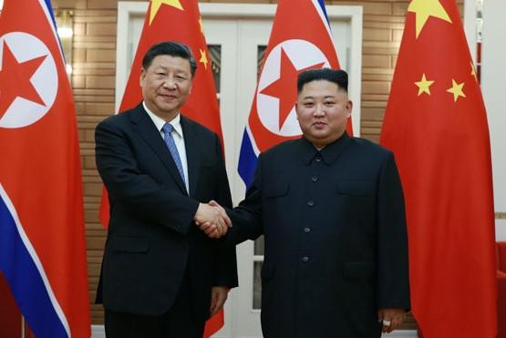 시진핑, 김정은에 서한