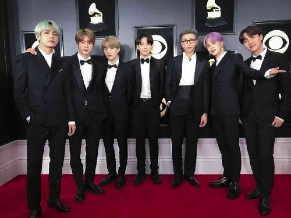 grammys under fire after bts wasn t nominated for 2020 event the korea herald