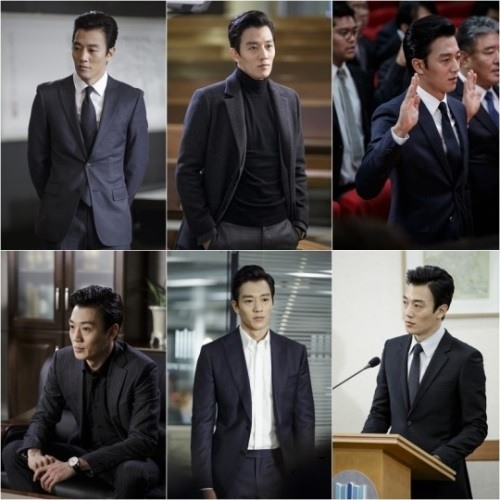 Kim Rae-won shows off perfectly fitted suit in new drama