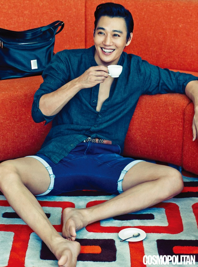 Kim Rae-won features in sunny fashion shoot