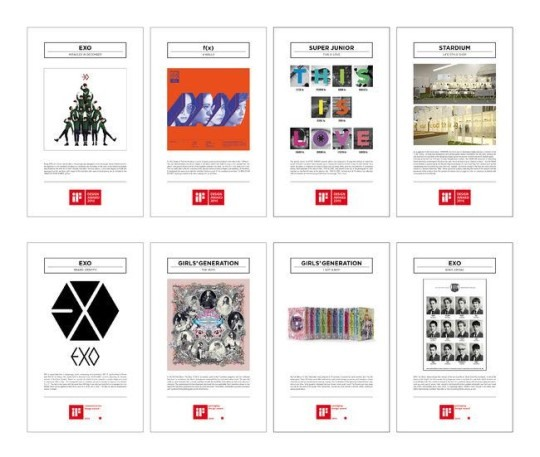 Exo Christmas Album Cover.Exo Super Junior F X Album Covers Win Design Awards In