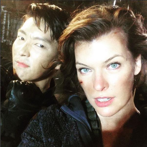 Lee Joon Gi Spotted In Resident Evil Movie Trailer