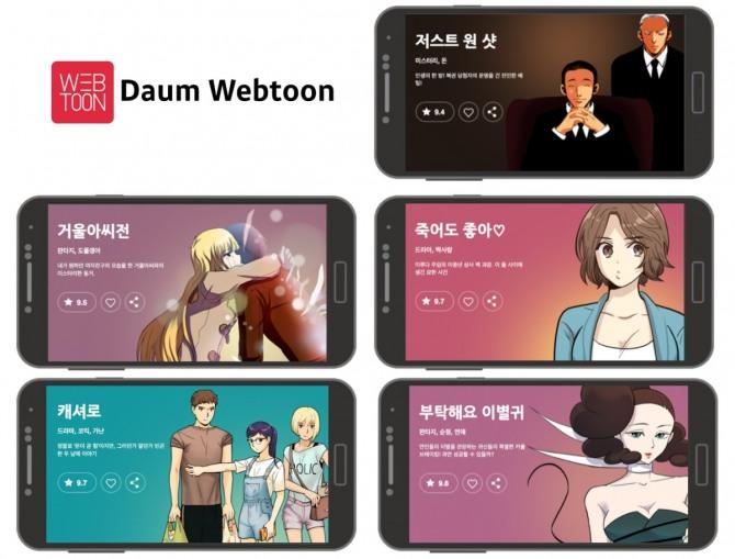 Korean webtoon makes big strides in global comics market