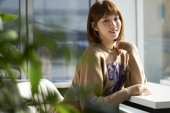 The infectious joy of 'Weightlifting Fairy' Lee Sung-kyung