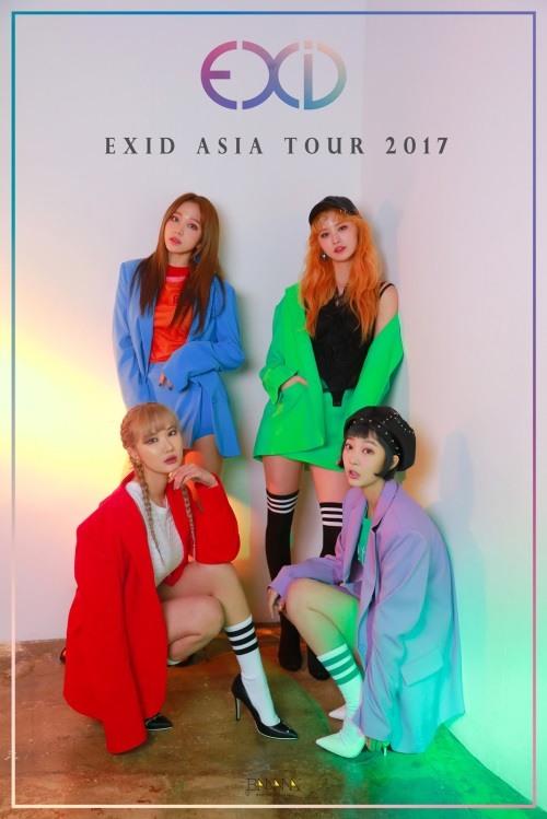 EXID, 본격 첫 아시아 투어 돌입…6월17일 홍콩 시작
