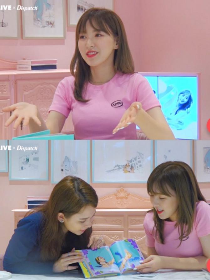 V Report] Wendy unwraps Red Velvet's 'Summer Magic'