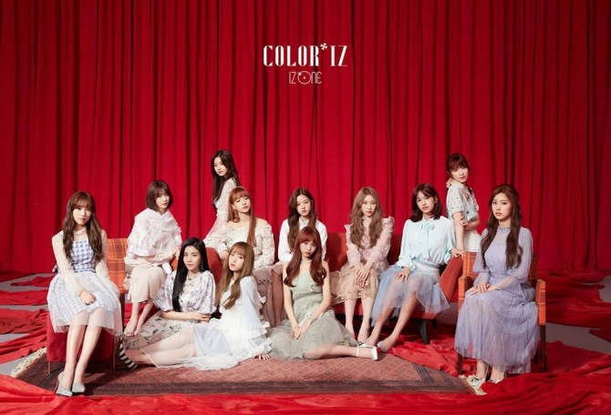 V Report Plus] IZ*ONE bests Red Velvet in TV ratings