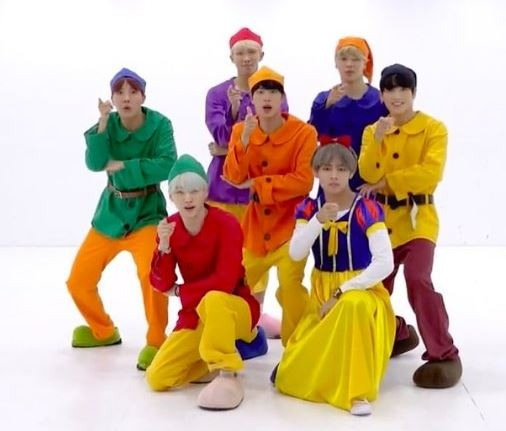 All of BTS' Halloween costumes since 2014