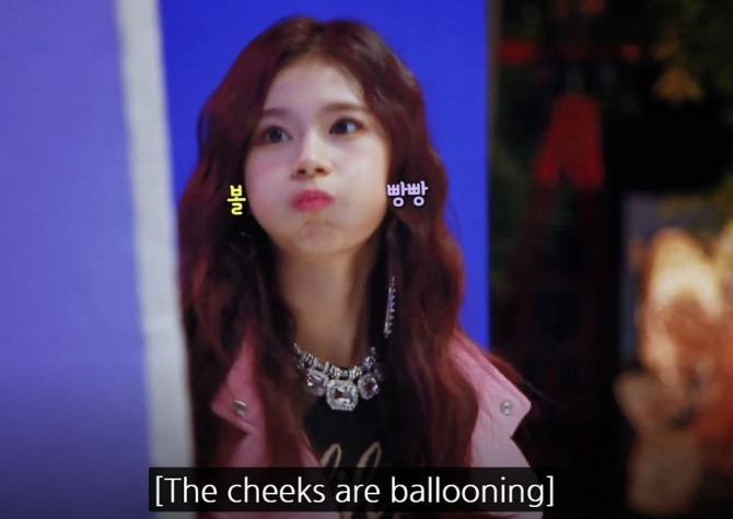 V Report Plus] Twice's Sana gets energetic on 'Yes or Yes