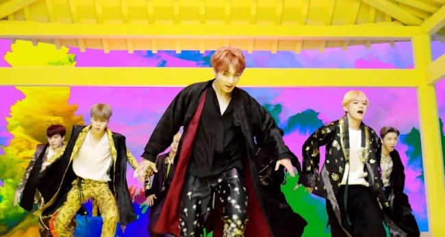 Image result for bts idol hanbok