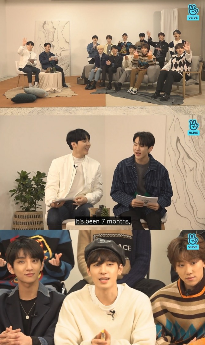 V Report] Seventeen goes live on eve of 'You Made My Dawn