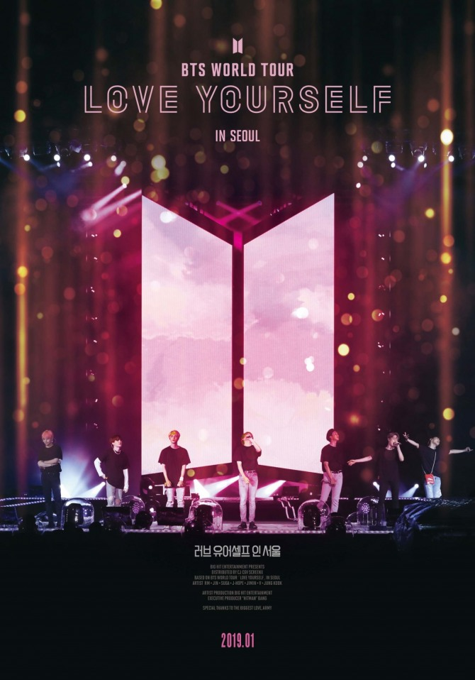 BTS concert film 'Love Yourself in Seoul' tops box office in