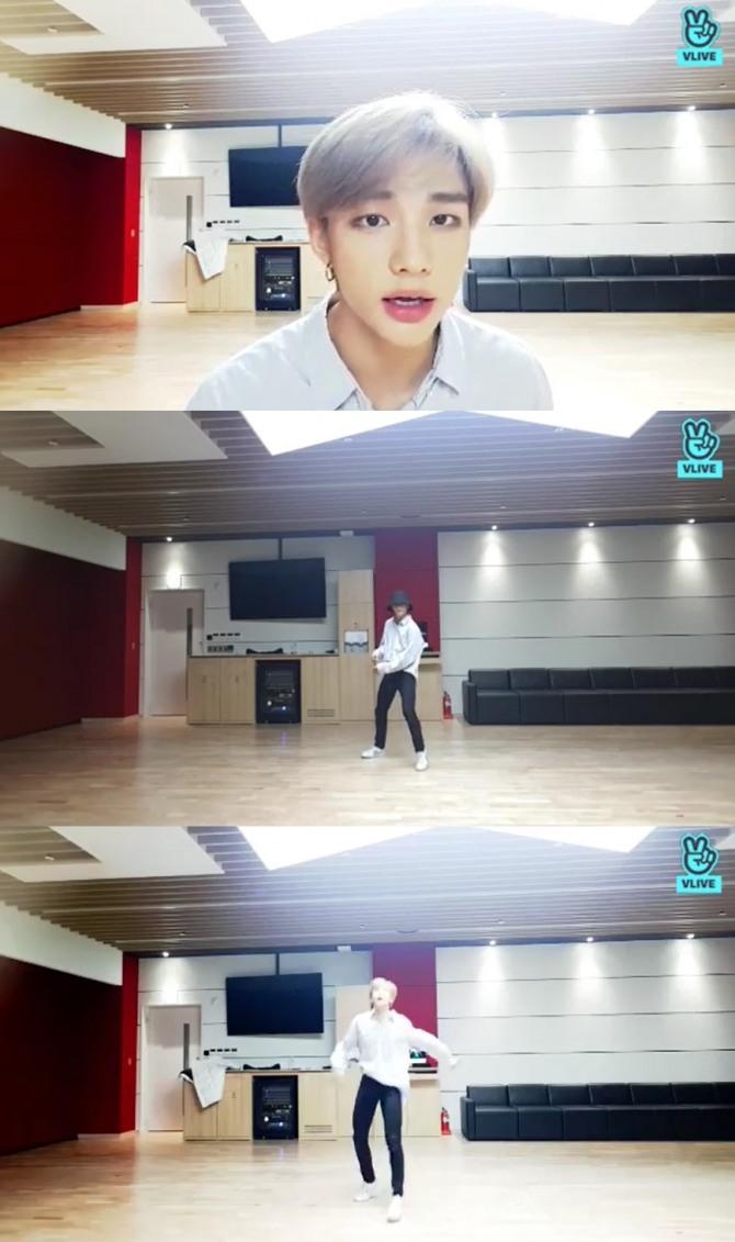 V Report] Stray Kids' Hyunjin appears solo on V