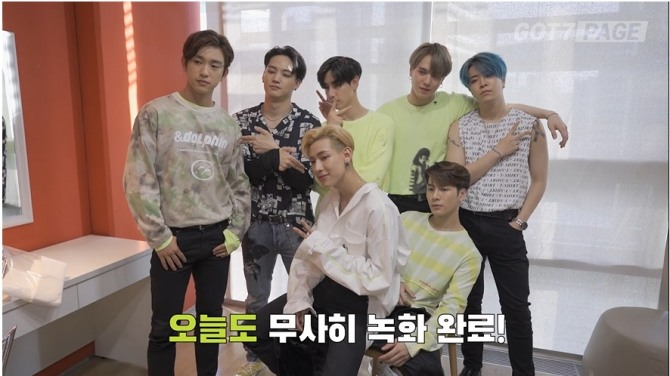 V Report] GOT7 readies to meet their fans