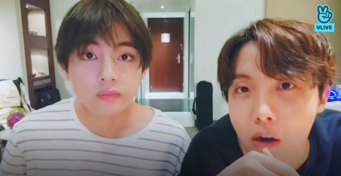 V Report] V and J-Hope wrap up last night in Paris with