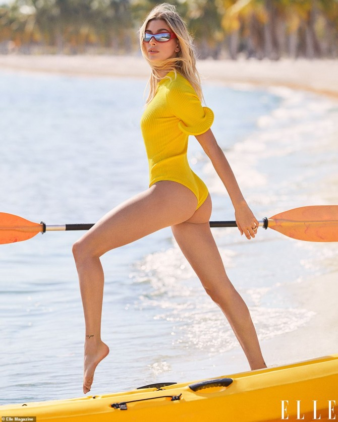 [할리웃POP]저스틴 비버 아내 헤일리, 모델의 화려한 비키니 몸매