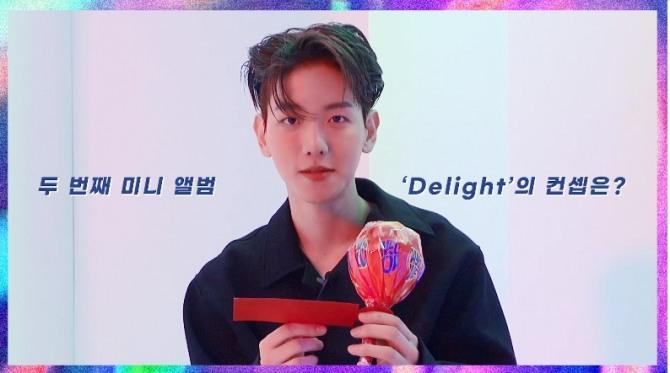 V Report Baekhyun Drops More Hints About New Album Delight
