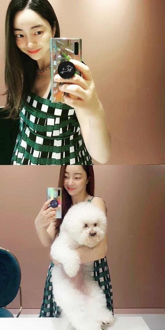 [종합]'김수미 며느리' 서효림, 출산 임박한 만삭 임산부‥반려견과 근황 공개