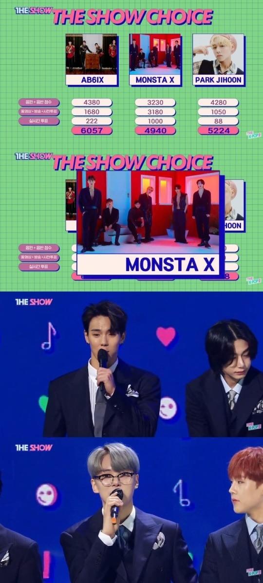 MONSTA X SBS MTV The Show Love Killa First Win